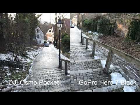 DJI Osmo Pocket Vs. GoPro Hero 7 Black - 4K 30 Fps