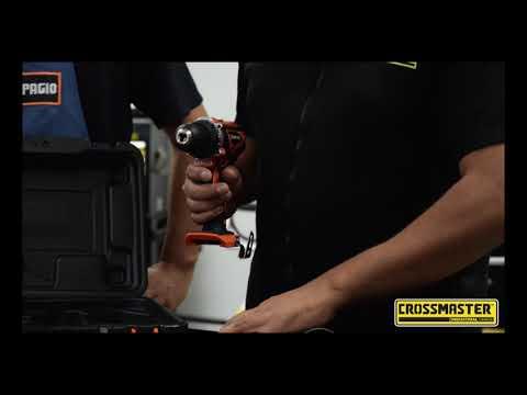 Taladro a Batería Recargable Reversible 13mm 2 Velocidades Variables FLEX ONE 18V Li-ion Dowen Pagio