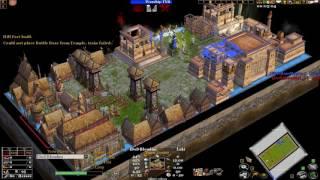 Age of mythology the TITANS 1v1 TINY match