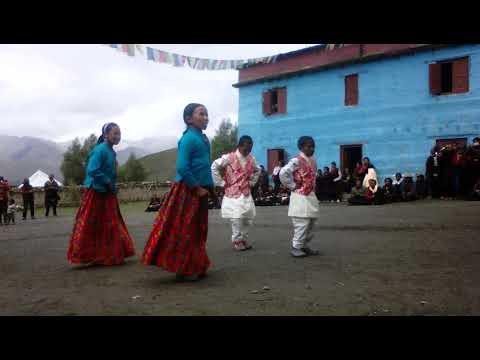 KARANG  SCHOOL- shey-phoksundo-2, Rural Municipality Programme  and dance perform by the children...