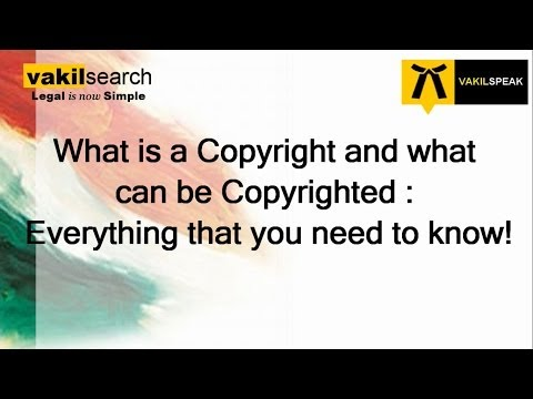 How to Apply for Copyright Registration ?