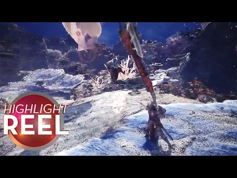 Highlight Reel #369 - Monster Hunter Player Launches Friend At Beast