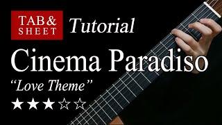 Cinema Paradiso Love Theme -  Guitar Lesson + TAB