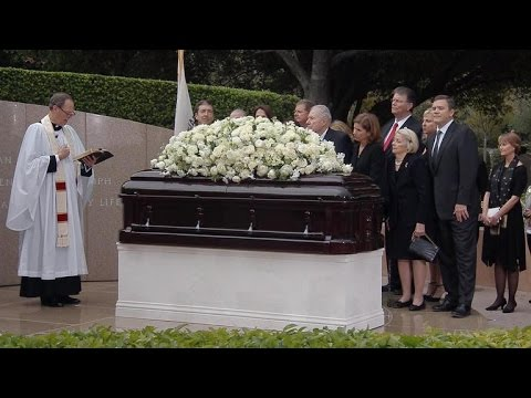 Watch: Full funeral service of Nancy Reagan