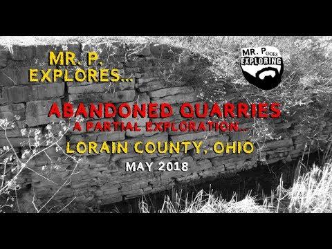 Mr. P. Explores... Abandoned Quarries in Lorain County, Ohio