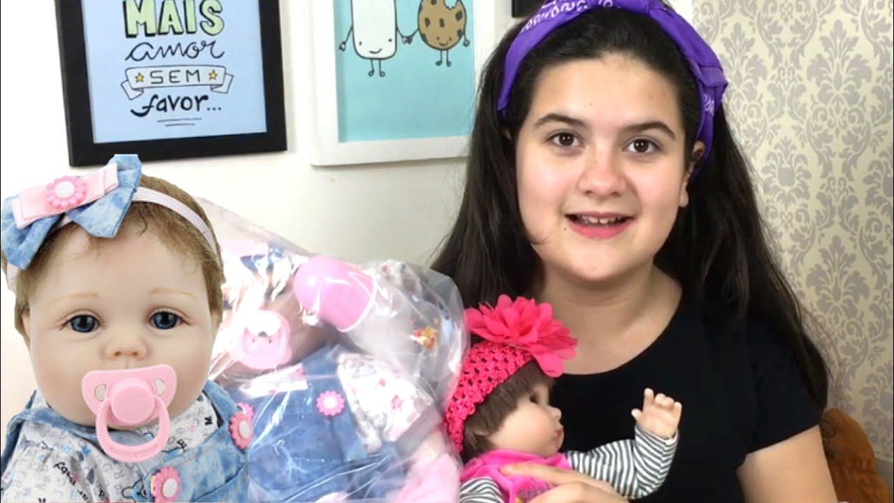 Ganhei Uma Bebe Reborn Da China Youtube