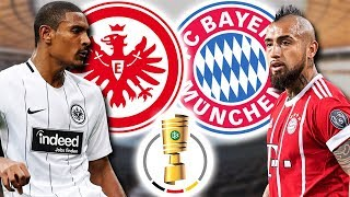 EINTRACHT FRANKFURT - FC BAYERN MÜNCHEN DFB-POKAL FINALE | Topps Match Attax 2017/2018 Prognose