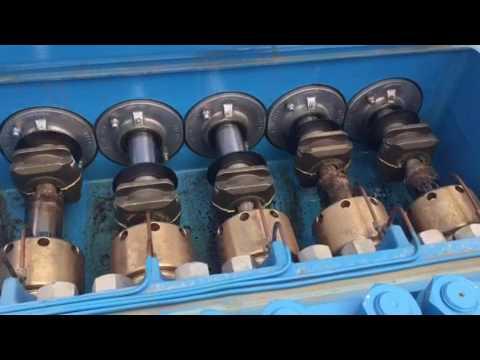 J 300 Quintuplex Alternative Plunger Pump. SIAM-ARCON