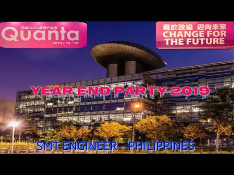 QUANTA COMPUTER TECHNOLOGY INC.  YEAR END PARTY 2019