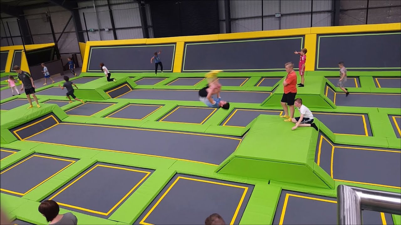 Jump Xtreme Double Front Back Flips Ultimate Trampolining Youtube