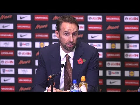 Gareth Southgate Full Press Conference - Announces England Squad For Germany & Brazil Games