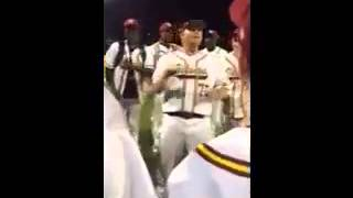 "Humboldt Viking Baseball Team Chant after each Victory. ""Ode to Ric Flair"""