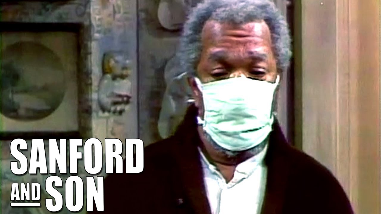 Fred Wears A Face Mask | Sanford and Son