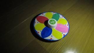 CDコマの表面に書かれた模様や色は回転によってあいまいになってしまい...