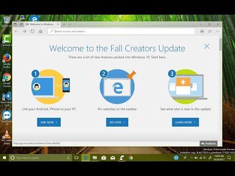Installing Windows 10 Insider Preview Build 17025 (Redstone 4)