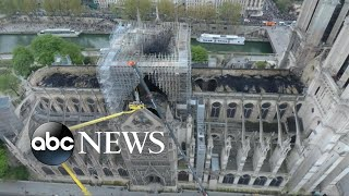 New images of Notre Dame Cathedral show extent of fire damage
