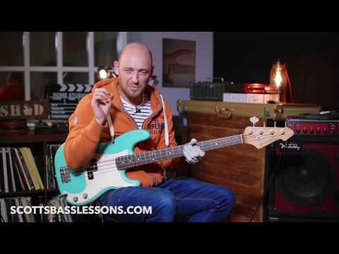 Forget Me Nots - Bass Line Analysis & Lesson /// Scott's Bass Lessons