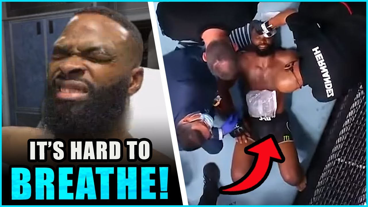 Tyron Woodley reacts to his TKO loss to Colby Covington, Dana White breaks down the main event