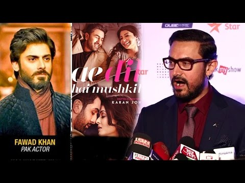 Aamir Khan's SHOCKING Comment On Pakistani Actors & Ae Dil Hai Mushkil Controversy