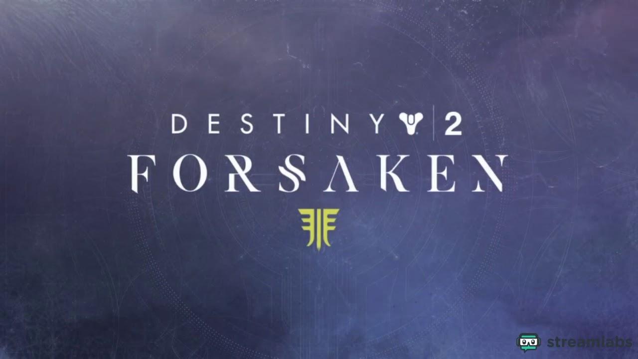11/22/2018 Destiny 2 (PreRecorded Stream)