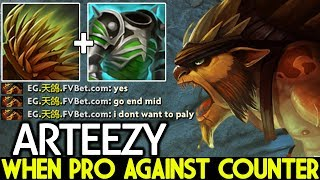 ARTEEZY [Bristleback] When Pro Against Counter Hard Game 7.22 Dota 2