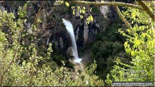 Ardèche - Crue Cascade de Rochecolombe
