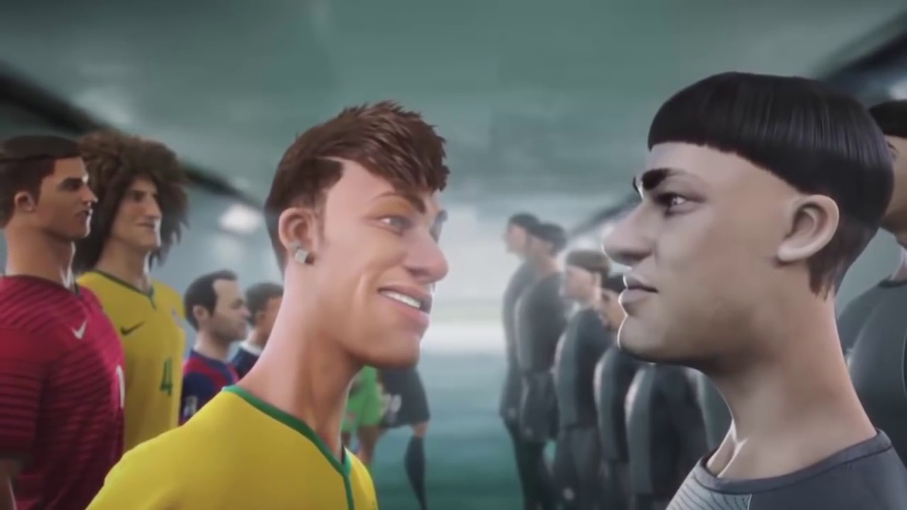 Iklan Kartun Pemain Sepak Bola PAling Cetarr