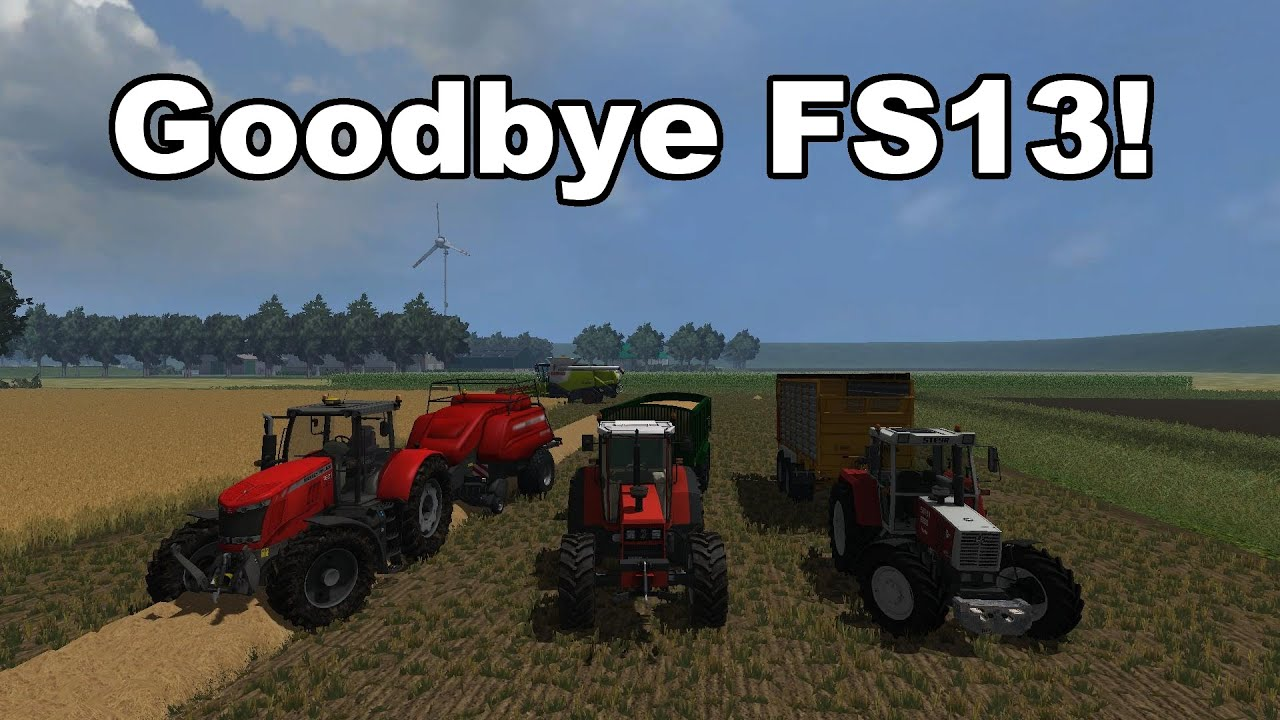 Farming Simulator 2013 Netherlands Special 2014 V12 Bye Bye