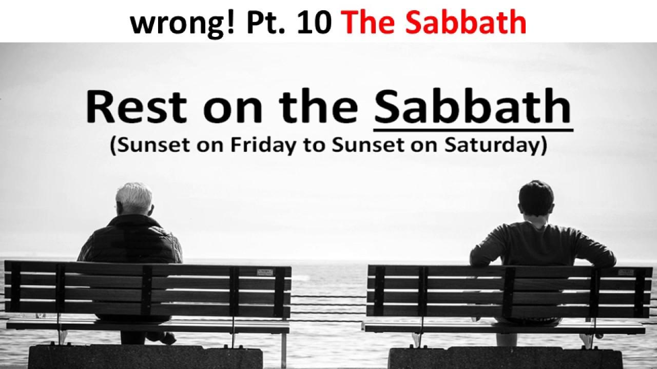 what happens on sabbath day