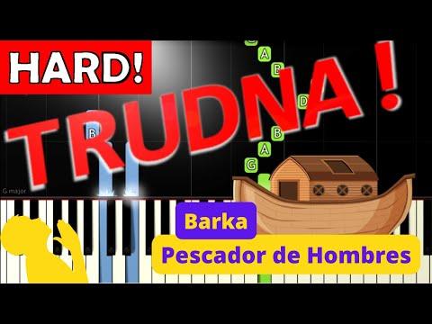 🎹 Barka - Piano Tutorial (TRUDNA! wersja) 🎹