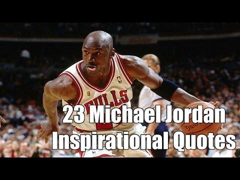 The Best 23 Michael Jordan Inspirational Quotes - Motivation for Athletes