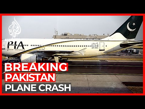 Pakistan passenger plane crashes in southern city of Karachi