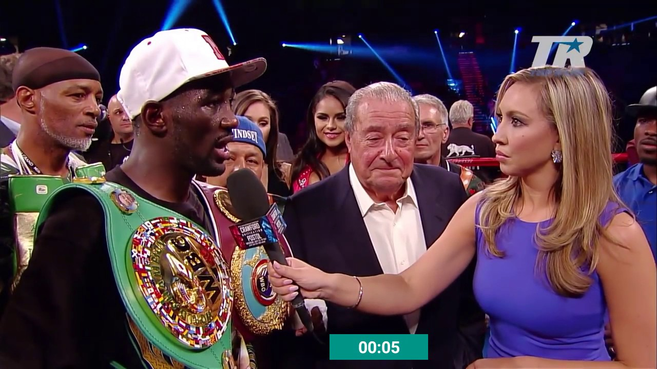 Image result for Bob Arum and Crawford