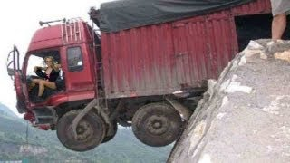 DEADLY TRUCK CLIFFHANGER