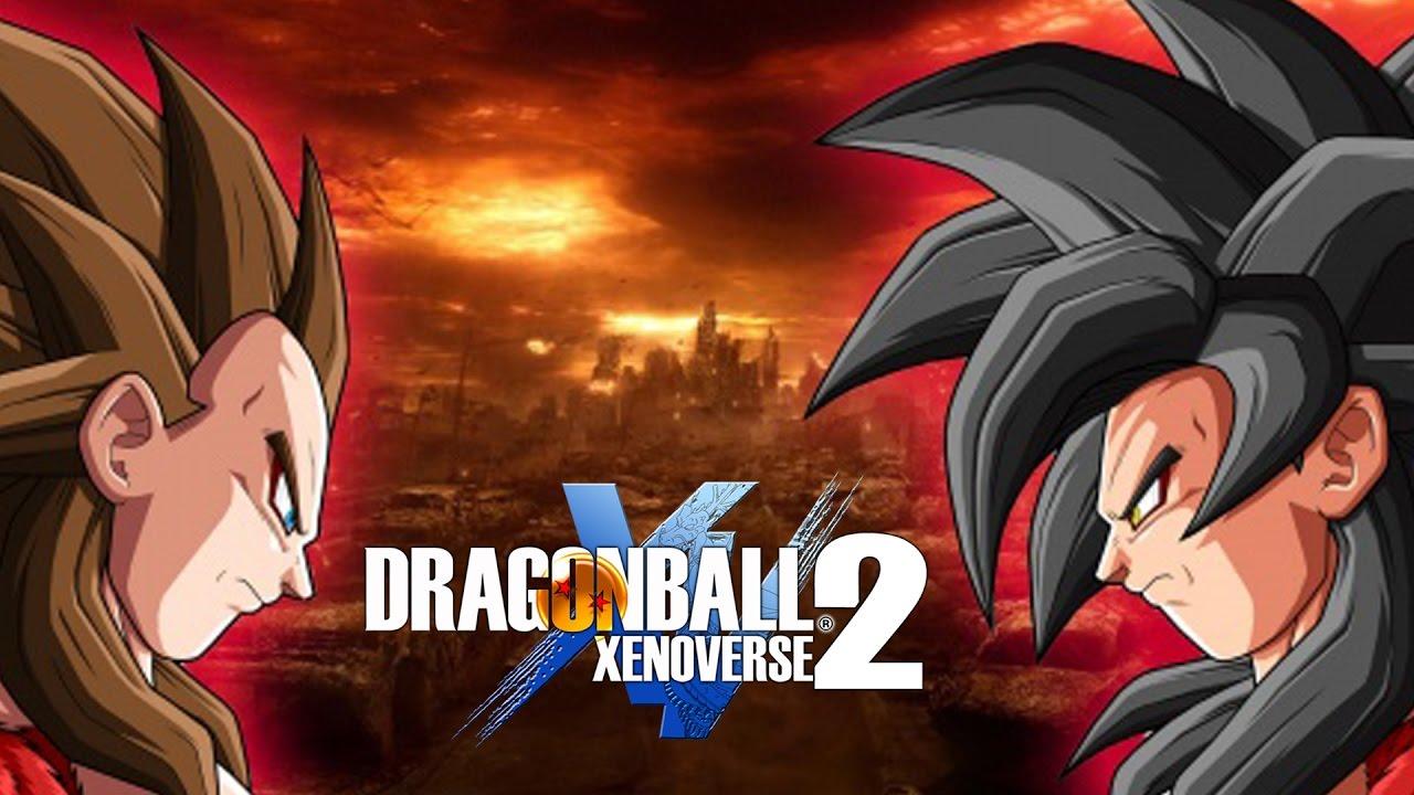 Los m s poderosos goku ssj4 y vegeta ssj4 dragon ball - Dragon ball xenoverse ss4 vegeta ...