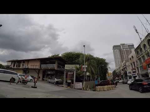 ss15駅~Pasar Pagi~Asia Cafeまでの徒歩映像