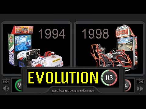 Evolution [03] Sega Rally vs Sega Rally 2 - Side by Side Comparison (Sega Rally Evolution)