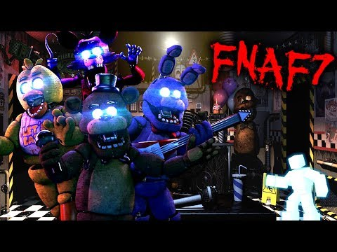 FNAF7 - FIVE NIGHTS AT FREDDY'S 7 - THE ULTIMATE CHALLENGE BETWEEN SCOTT CAWTHON & DAWKO [Troll]