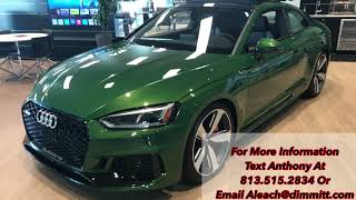 2018 Audi RS5 Quick Overview in Wesley Chapel, FL