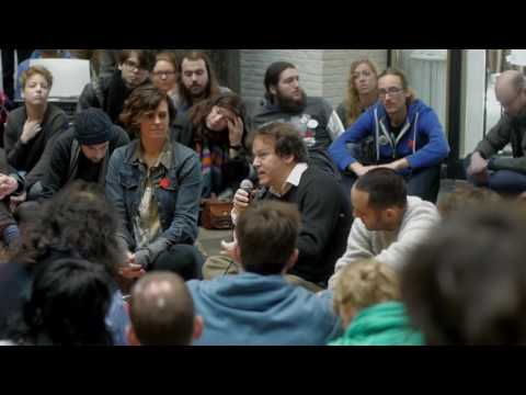 Lecture by David Graeber Resistance In A Time Of Total Bureaucratization   Maagdenhuis Amsterdam