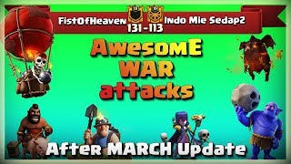 FistOfHeaven VS Indo Mie Sedap2 | TH11 War Recap #47 | Clash Of Clans | 2018 |