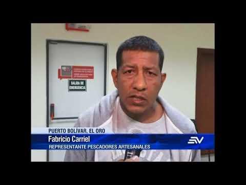 Nuevos incidentes en Puerto Bolívar, en El Oro