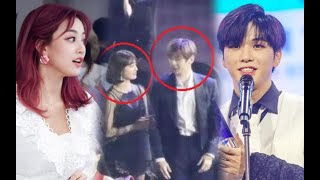 Fans expect to see Daniel&Jihyo interact when they first appeared together at event after DatingNews
