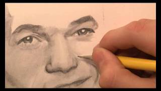Barney Stinson - How I Met Your Mother Speed Drawing