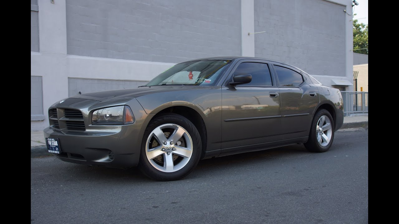 2009 Dodge Charger SE 27 DOHC 24V V6 Sedan  YouTube