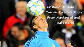 Cristiano Ronaldo in Training  Skills/Tricks/Freestyle  Man U and Real Madrid