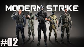 GAMEPLAY MODERN STRIKE MULTIPLAY KILL OR SURVIVAL MODERN STRIKE SURVIVAL ANDROID #02