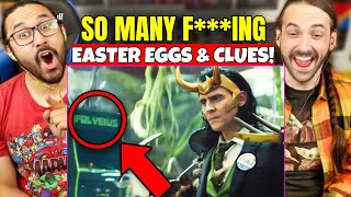 LOKI TRAILER - EASTER EGGS & BREAKDOWN! TVA & D.B. Cooper Explained - REACTION!!