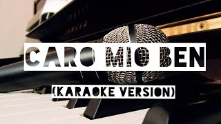 Caro Mio Ben (karaoke version)