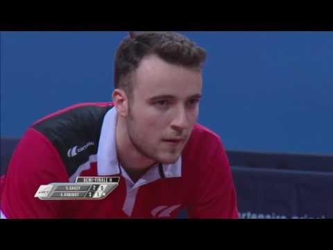 Simon GAUZY - Alexandre ROBINOT Championnat de France Tennis de table 2017